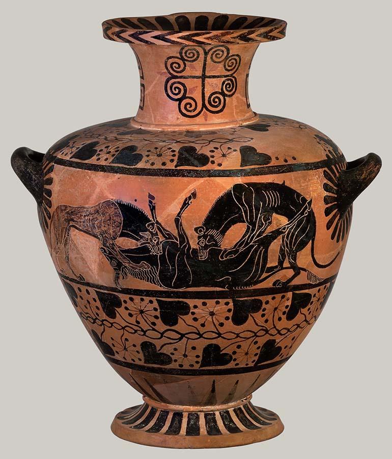 Jarra de água - Hydria (c. 520-510 a.C.)
