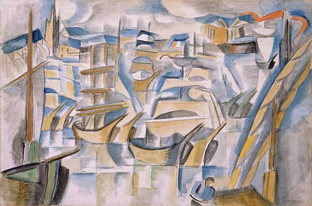 cubismo; André Lhote; Le Port de Bordeaux (1915)