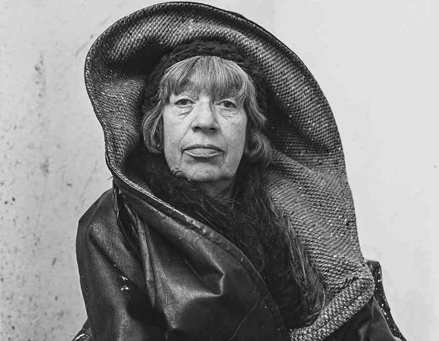 Lee Krasner, 1972 por Irving Penn