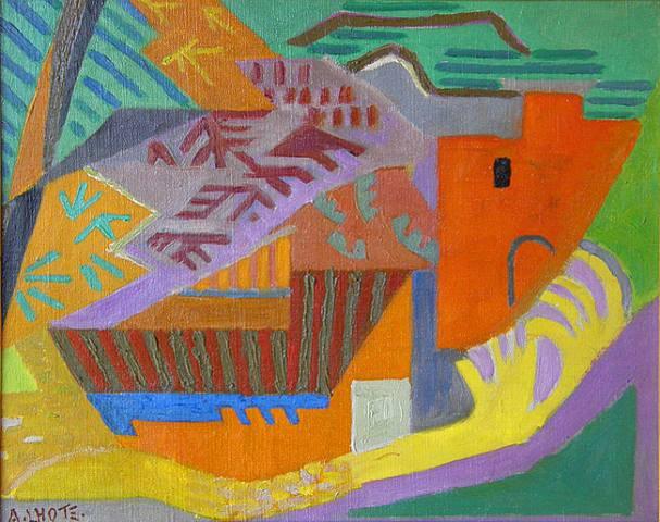 cubismo; André Lhote; Mirmande (1930)