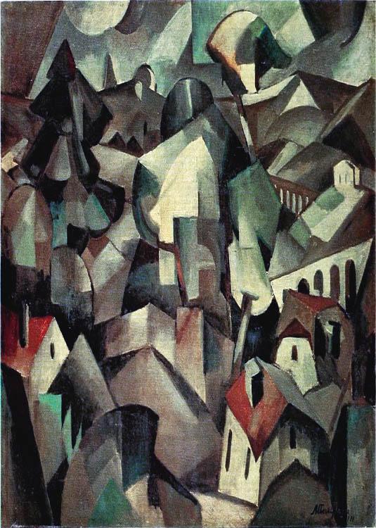 cubismo; Albert Gleizes; Paisagem (1911)