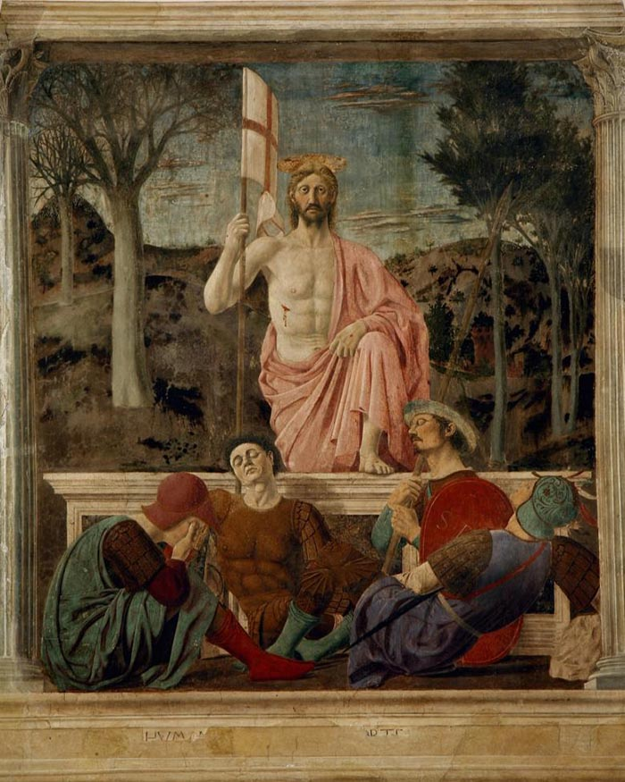 Piero della Francesca - Ressurrection (1463)