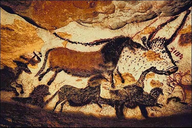 Pintura na Caverna de Lascaux (França)