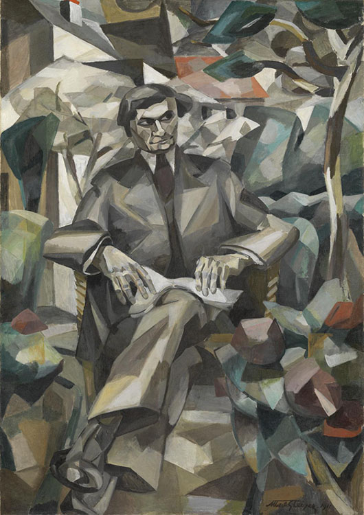 cubismo; Albert Gleizes; Retrato de Jacques Nayral (1911) http://www.tate.org.uk/art/work/T02410