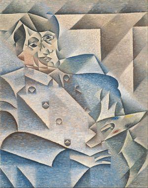 cubismo; Juan Gris;Retrato de Picasso (1912)