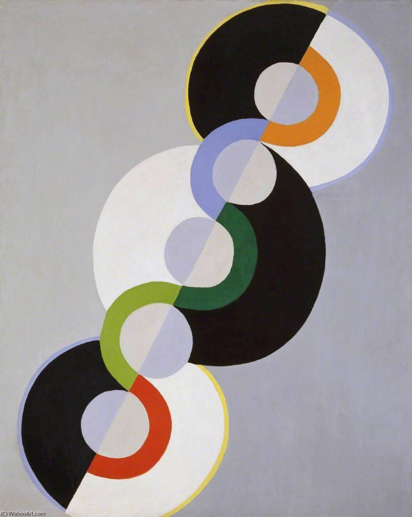 cubismo; Robert Delaunay; Ritmo sem fim (1934)