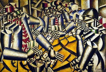 cubismo; Fernand Léger; Soldados Jogando Cartas (1917)