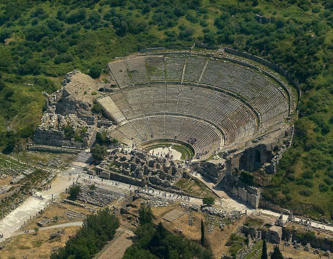 Período Helenístico; Teatro de Éfeso
