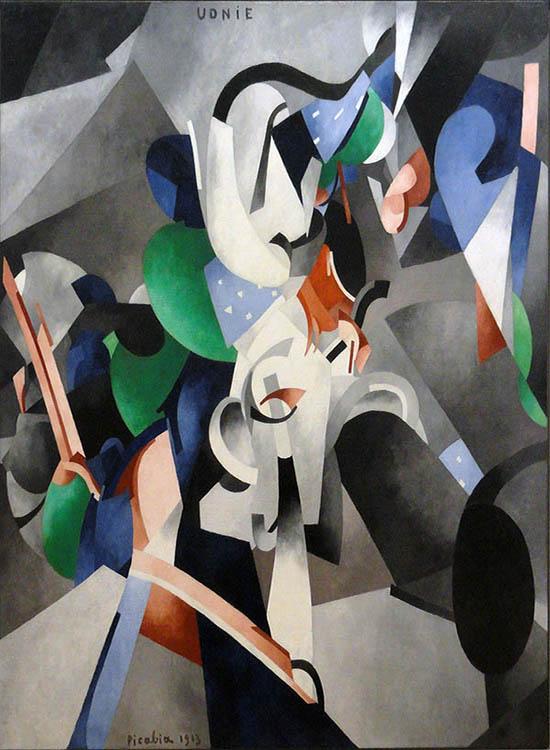 cubismo; Francis Picabia; Udnie (1913)