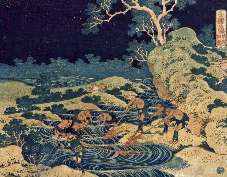 Xilogravura de Katsushika Hokusai