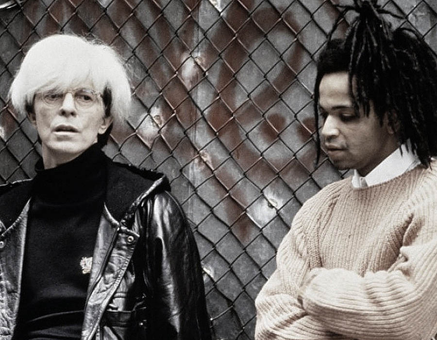 David bowie no filme sobre basquiat