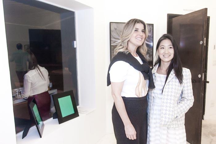 Bianca Boeckel Galeria; Ana Candida e Su Jung Ko