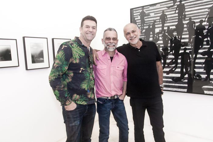 Bianca Boeckel Galeria; Joao Vicente Cunha, Virgilio Neves e Manoel Bragheroli