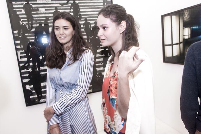 Chloe Bellaiche e Elisa Caudin