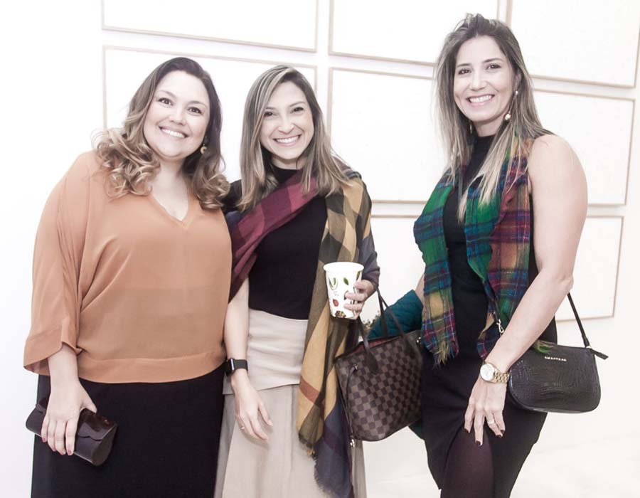 Maria Carolina Costa e Silva, Renata Filgueira e Kelly Amorim