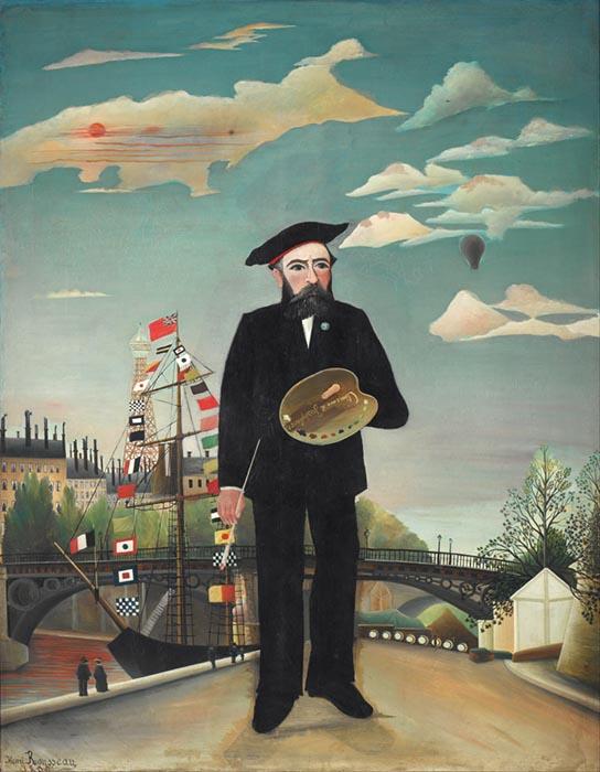 Henri Rousseau - Self-portrait, Google Art Project, National Gallery in Prague