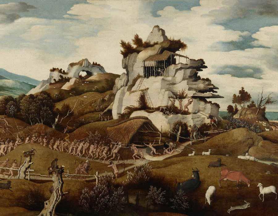 Os artistas dos Países Baixos no início do século XVI