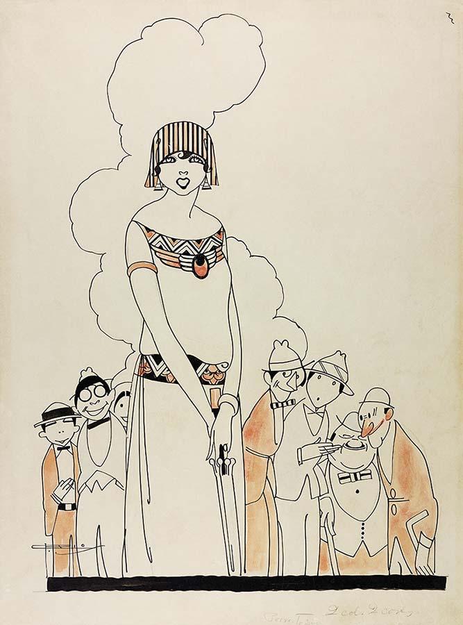 Percursos artísticos ; Todos (23-06-1923). Coleção Eduardo Augusto de Brito e Cunha / Acervo IMS
