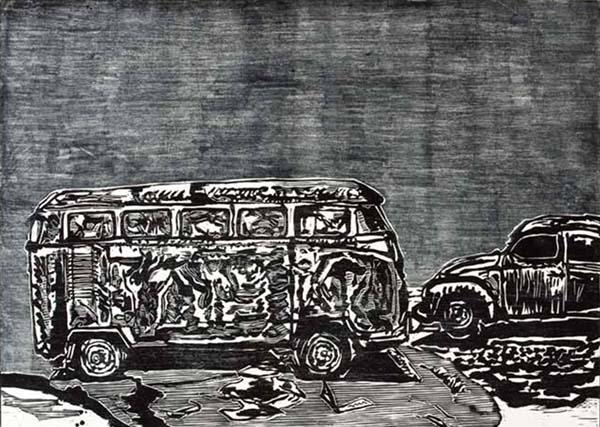 Francisco Maringelli - Casulo e carcaça, carcomidas de ferrugem