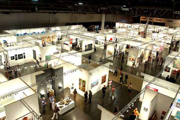 feiras de arte; Houston Fine Art Fair