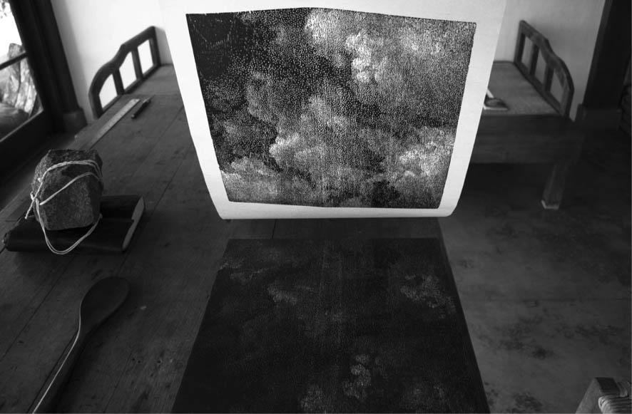 Impressão de xilogravura de ernesto bonato - gravura no Brasil
