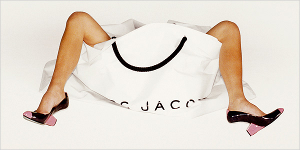 marketing e arte: Juergen Teller para Marc Jacobs