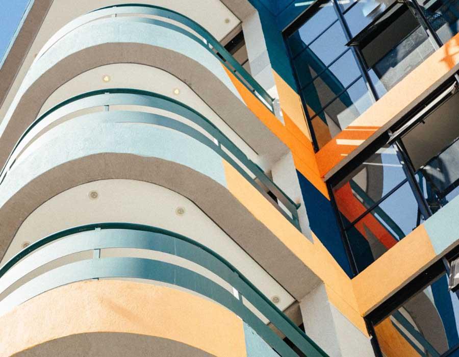 Detalhe - Marcelo Macedo, fachada do Hotel Selina Madalena, 2019. Foto- Vitor Cohen