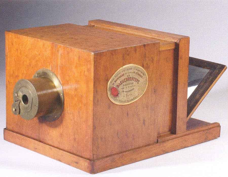 história da fotografia; Daguerreótipo