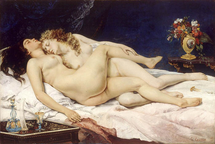 Sleep - Courbet