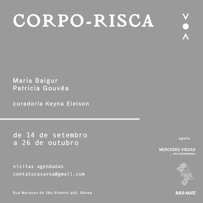 Patrícia Gouvêa | Corpo - Risca