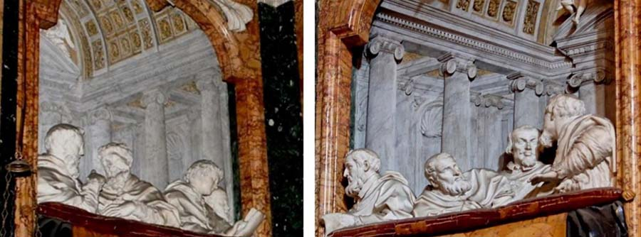Gian Lorenzo BERNINI (1598-1680) O Êxtase de Santa Tereza, 1647-1652. Cappella Cornaro, chiesa carmelitana di Santa Maria della Vittoria, em Roma.