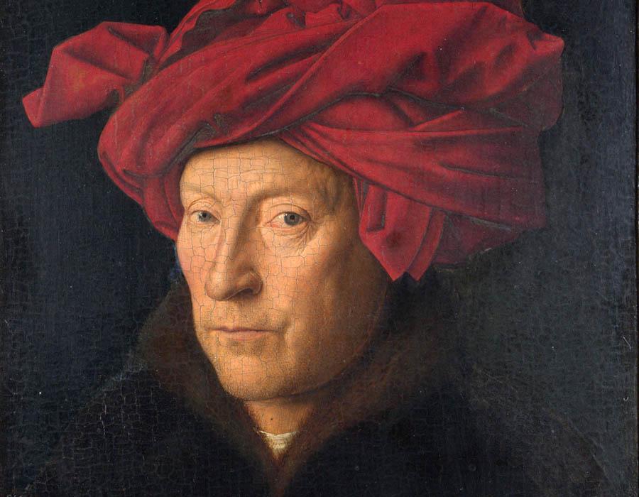 Van Eyck - Retrato de um Homem (possível autorretrato) | The National Gallery