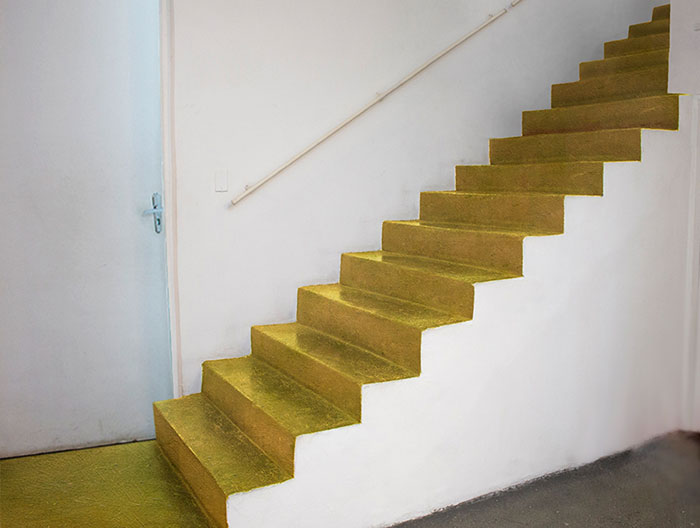 Exposições no b_arco / Virgílio Galeria; Projeto Escada - Carmela Gross