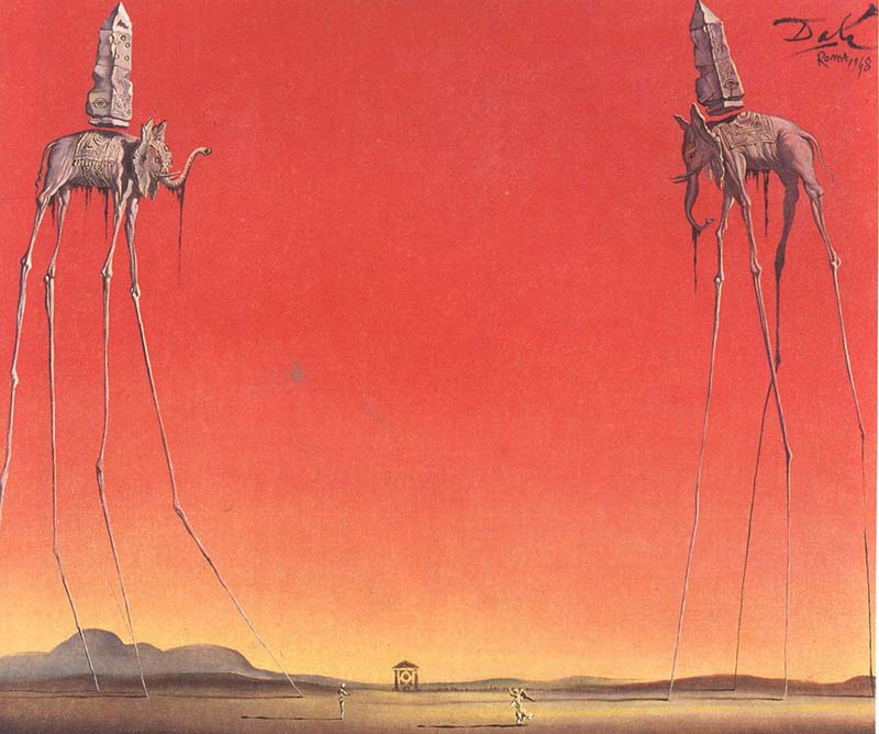 Salvador Dali - the elephant
