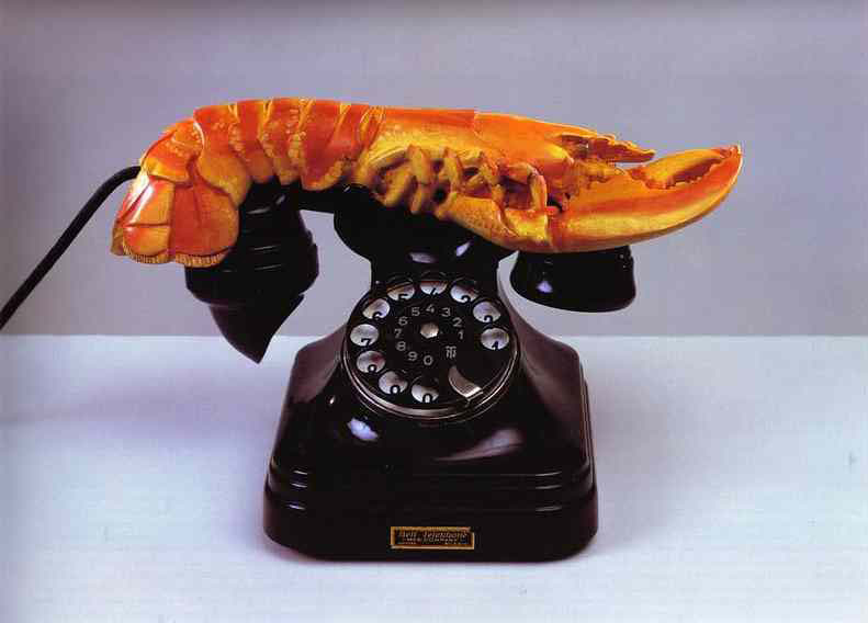 lobster-telephone-1938 Salvador Dali