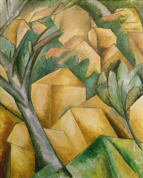 Georges_Braque,_1908,_Maisons_à_l'Estaque_(Houses_at_L'Estaque),_oil_on_canvas,_73_x_59.5_cm,_Kunst_Museum_Bern