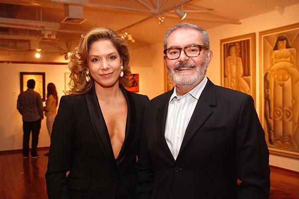 Leonora Nogueira e Marcelo Cintra