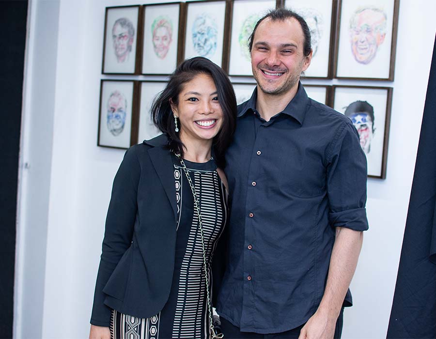 Luciano Zanette e Carolina Yagihara capa