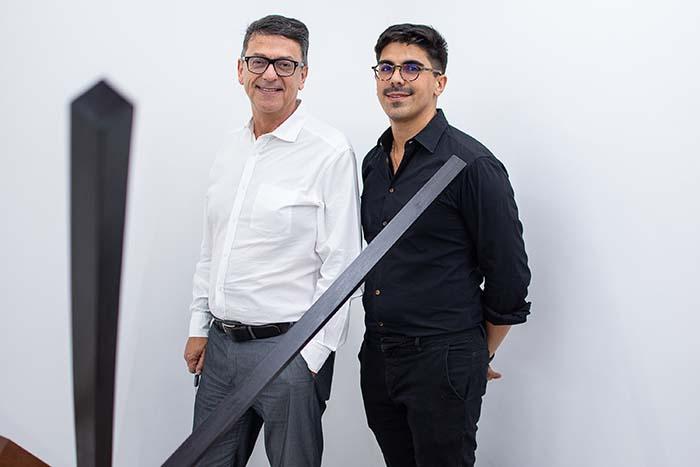 Marcelo Araújo e Ian Duarte Lucas
