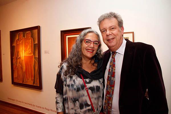 Patricia Lee e Ricardo Camargo