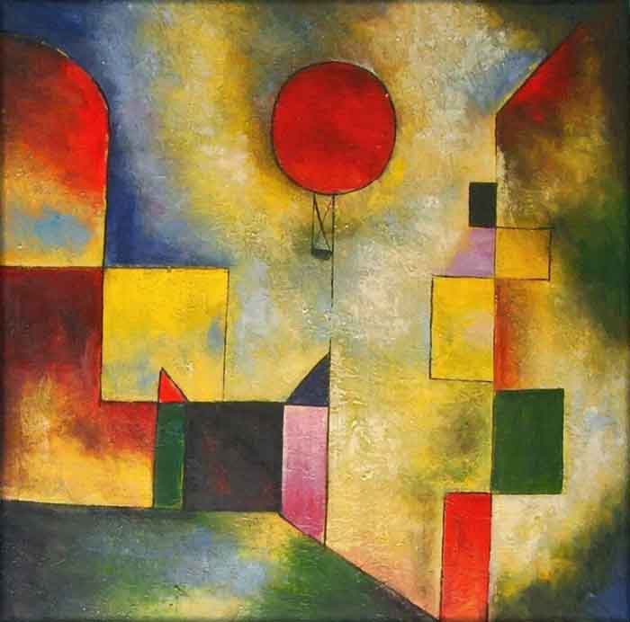 Paul Klee. Red Balloon (1922)