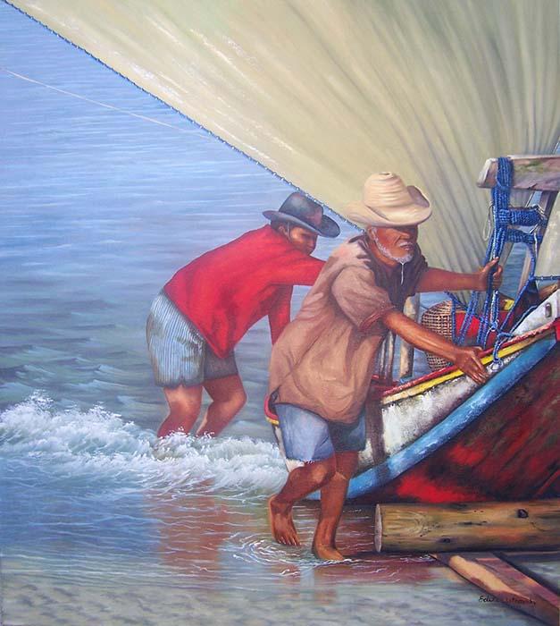 Voltando da Pescaria
