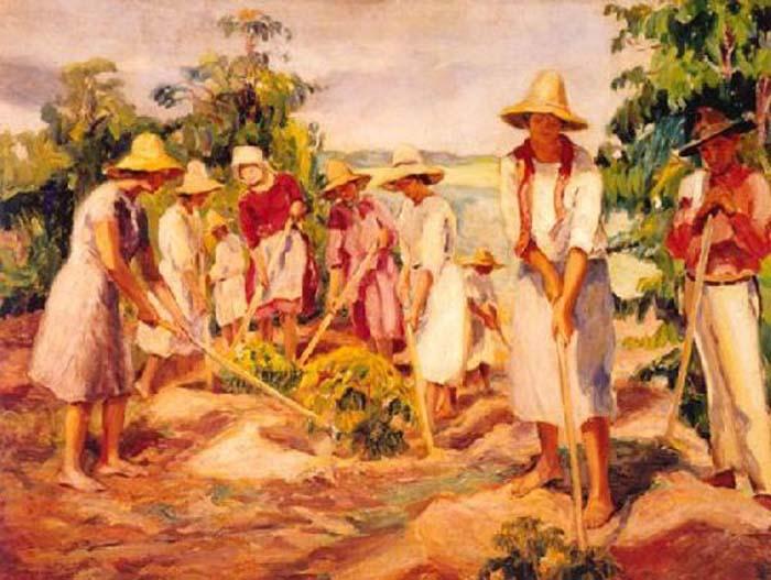 participação das mulheres na história da arte