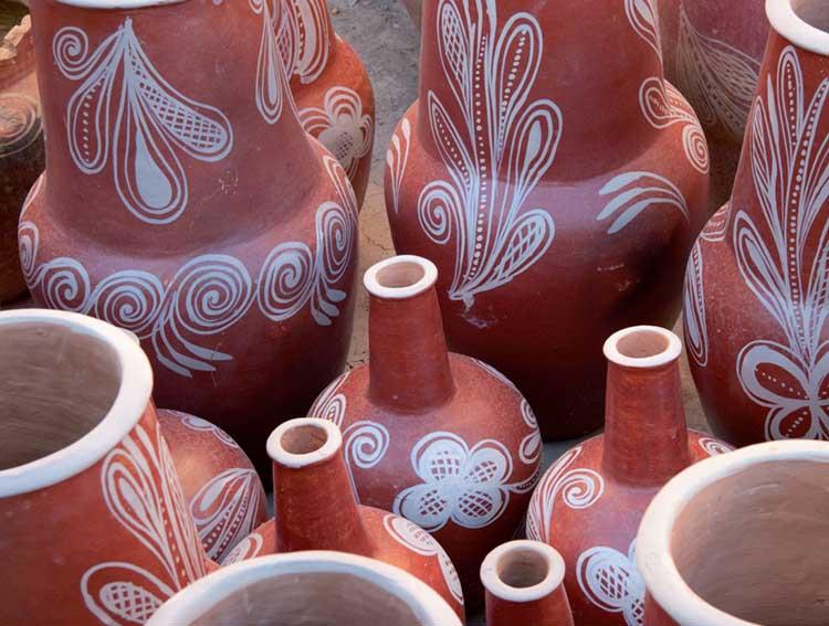 vasos - arte folclórica