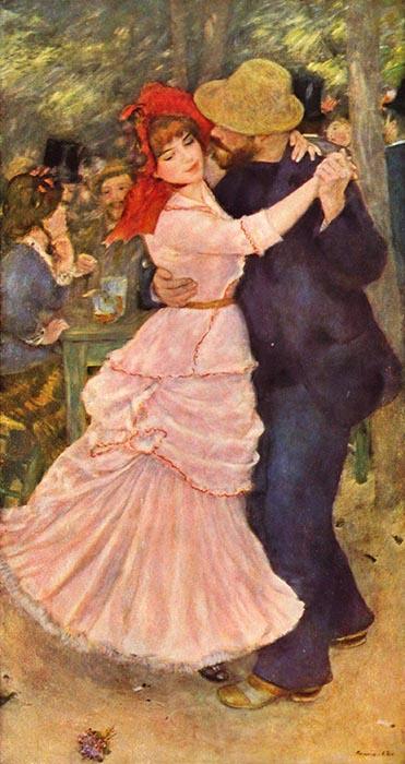 obras mais famosas de Renoir; Pierre-Auguste Renoir | Dança em Bougival (1883)