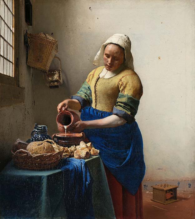 Johannes Vermeer. A Leiteira (1657) | Rijksmuseum, Amesterdã