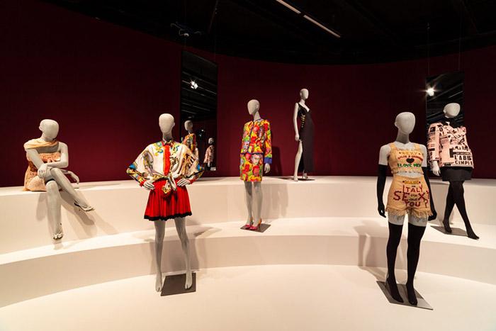 Exposição moda italiana