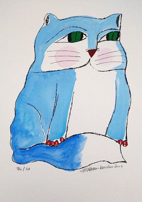 Aldemir Martins - Gato