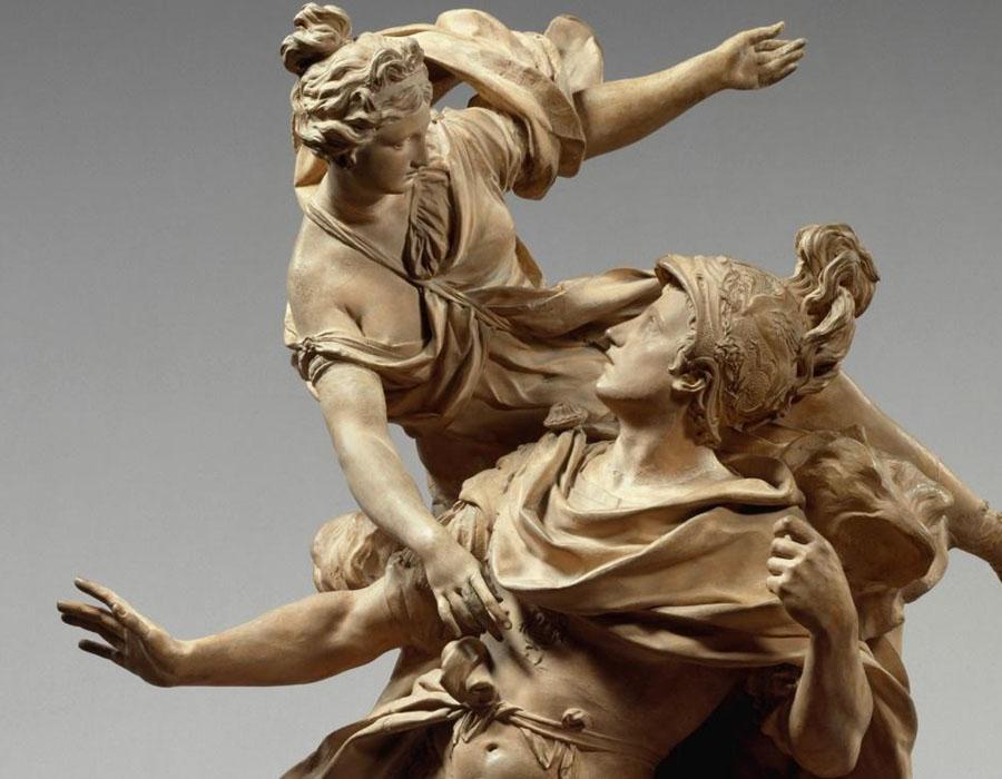 Jean CORNU (1650-1710) Vênus dando armas a Enéias, 1704.
