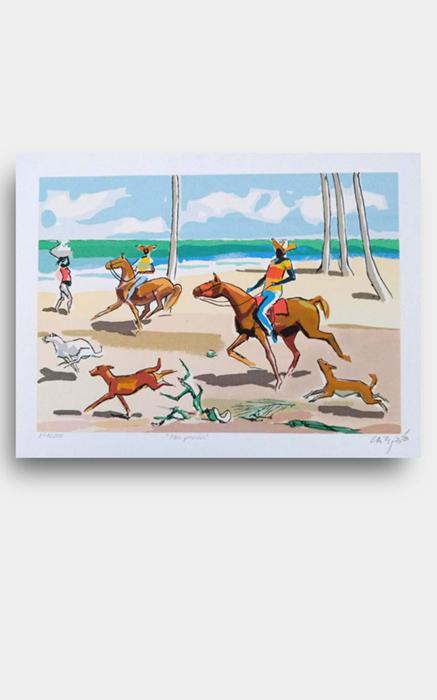 Carybé - Na Praia